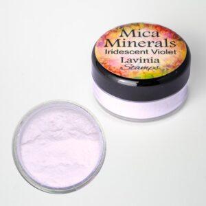Lavinia Stamps Mica Minerals - Iridescent Violet