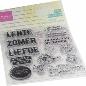 Marianne Design Clear Stamps Art stamps - zomertijd MM1638