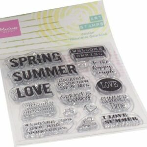 Marianne Design Clear Stamps Art stamps - Summertime (ENG) MM1639