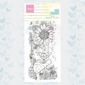 Marianne Design Clear Stamps Art stamps - Zonnebloem MM1648