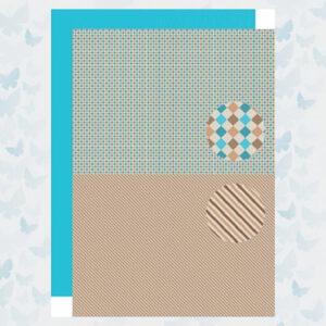 Nellies Choice Achtergrond Papier 2-zijdig Men Things Diamonds NEVA089