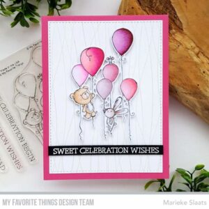 My Favorite Things Sweet Celebration Clear Stamps (RAM-008)