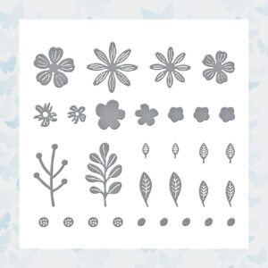 Spellbinders Snijmallen Mini Blooms and Sprigs Etched (S2-314)