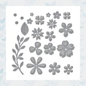 Spellbinders Snijmallen Petite Floral Potpourri (S3-420)