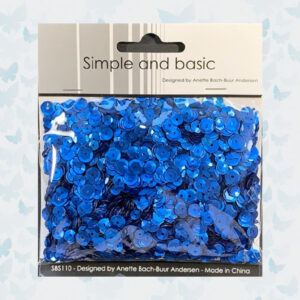 Simple and Basic Blue Sequin Mix (SBS110)