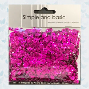 Simple and Basic Pink Sequin Mix (SBS112)