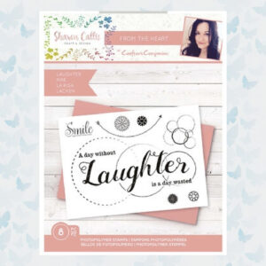 Crafter's Companion Sharon Callis From the Heart Clear Stamps Laughter (SCC-STP-LAUGH)