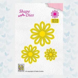 Nellies Choice Shape Die - Bloem 5 SD162