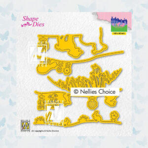 Nellies Choice Shape Die - Lente SD192
