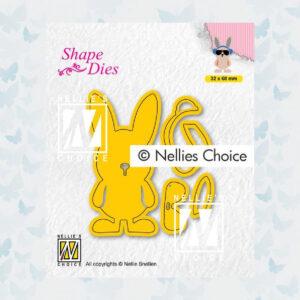 Nellies Choice Shape Die - Build-up Macho Haas SD195