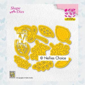 Nellies Choice Shape Die - Bladeren set SD201