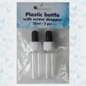 Nellies Choice 2 flesjes met schroefdop, druppelaar SDBO001