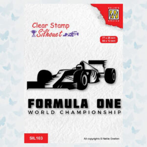 Nellies Choice Clearstempel - Formule 1 nr2 SIL103