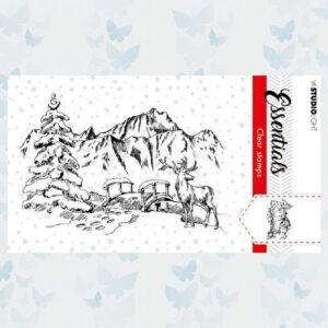 Studio Light Clear Stamp Chris. Essentials nr.91 SL-ES-STAMP91