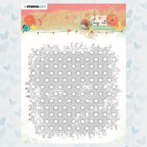 Studio Light Clear Stempel Achtergrond Say it with flowers nr.528 SL-SWF-STAMP528