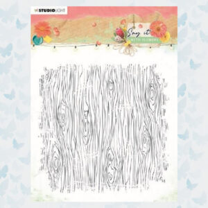 Studio Light Clear Stempel Achtergrond Say it with flowers nr.529 SL-SWF-STAMP529