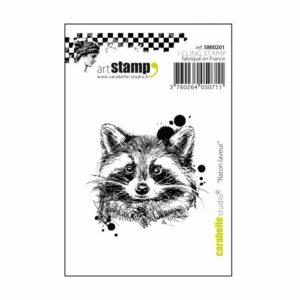 Carabelle studio cling stamp Mini Wasbeer SMI0201