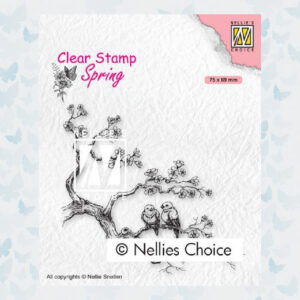 Nellies Choice Clearstempel - Lente liefdes SPCS017