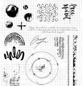 Studio Light Clear Stamp Grunge Collection nr.503 STAMPSL503