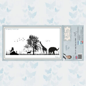 Creative Expressions Rubberen Stempel - On Safari SYR040