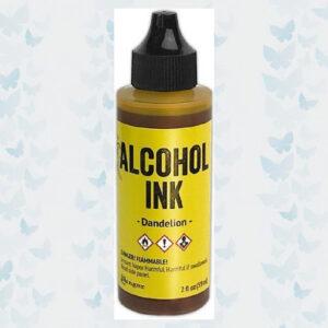 Ranger Alcohol Ink 59 ml - Dandelion TAG76223 Tim Holtz