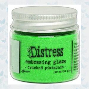 Ranger Distress Embossing Glaze Cracked Pistachio TDE70962