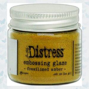 Ranger Distress Embossing Glaze Fossilized Amber TDE70986