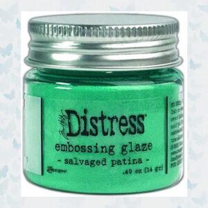 Ranger Distress Embossing Glaze Salvaged Patina TDE73871