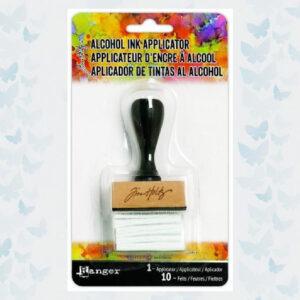 Ranger Alcohol ink applicator tool handle with felt TIM20745 Tim Holtz