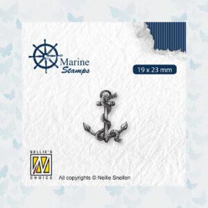 Nellies Choice Clear Stempel - Maritime - Anker VCS004