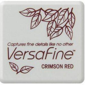 Versafine Mini inktkussen Crimson red VF-SML-011