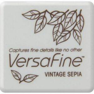Versafine Mini inktkussen Vintage sepia VF-SML-054