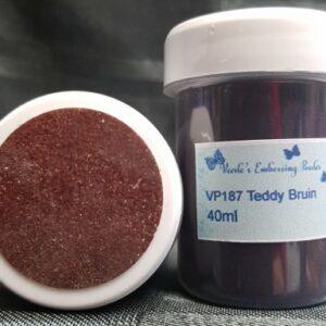 Veerle's embossing poeder Teddy Bruin VP187 - 40 ml