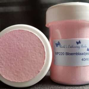 Veerle's embossing poeder Bloemblaadjes VP220 - 40 ml