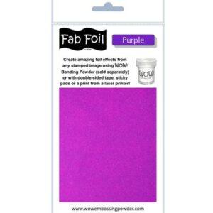 Wow! Fab Foil Purple W216-PRP90