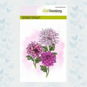 CraftEmotions Clear Stempels - Dahlia 130501/1307