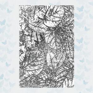 Sizzix 3D Texture Fades Embossing Folder - Foliage 665252 Tim Holtz