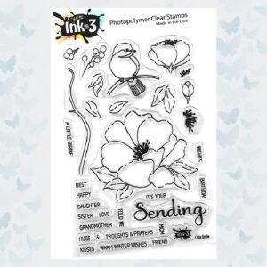 INKon3 - Clear Stempels Little Birdie