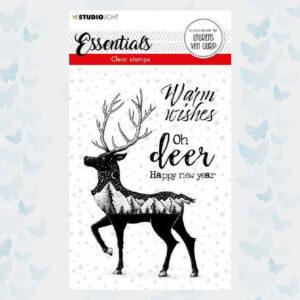 Studio Light Clear Stamp By Laurens nr.115 BL-ES-STAMP115