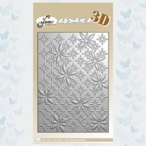 By Lene Daisies 3D Embossing Folder (BLE1010)