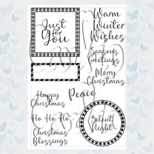 Card-io Clear Stamps Festive Frames