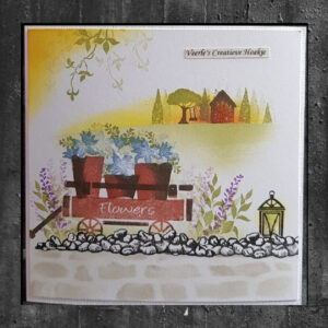 Card-io Clear Stamp Set Sunshine Skyline CCSTSUN-02