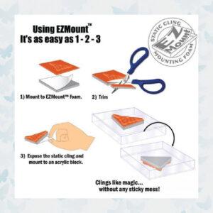 Crafter's Companion EZ Mount Single Foam Sheet A4