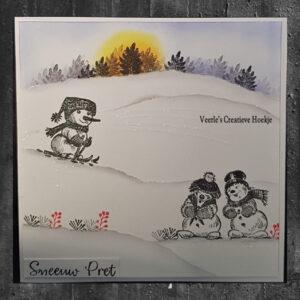 Nellies Choice Clear Stempel - Winter Mini Takjes Bessen MAFS006