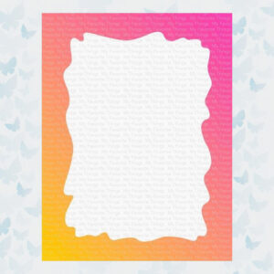 My Favorite Things Watercolor Wash Rectangle Stencil (ST-157)