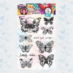 Studio Light Clear Stamp Art By Marlene 5.0 nr.49 STAMPBM49