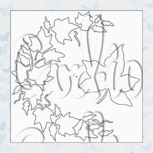 MajeMask Stencil Ivy Crescent