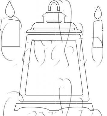 MajeMask Stencil Lovely Lanterns STLO-01